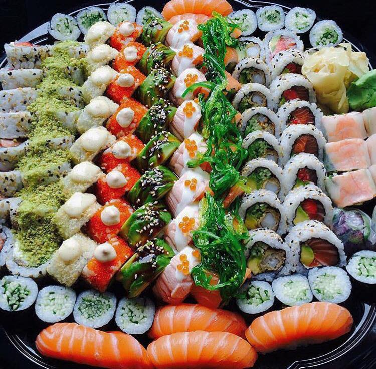 Order Sushi At Your Next Office Function At Bamboo Sushi