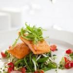 Salmon Salad at Harvest at Laborie