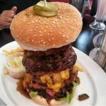 Burger Challenge Chubby Burger Franky's