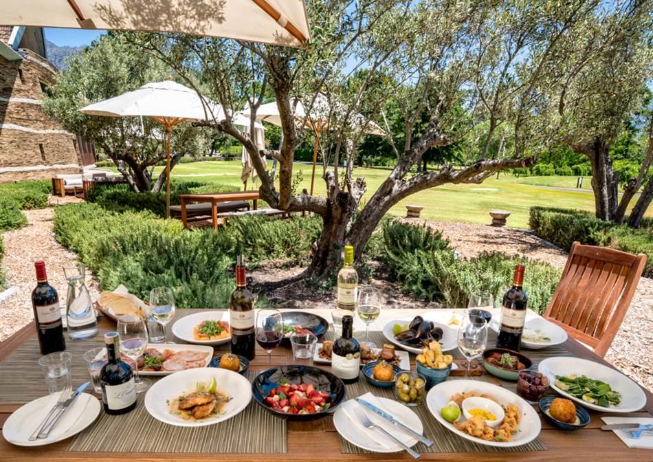 Buffet Restaurants Cape Winelands